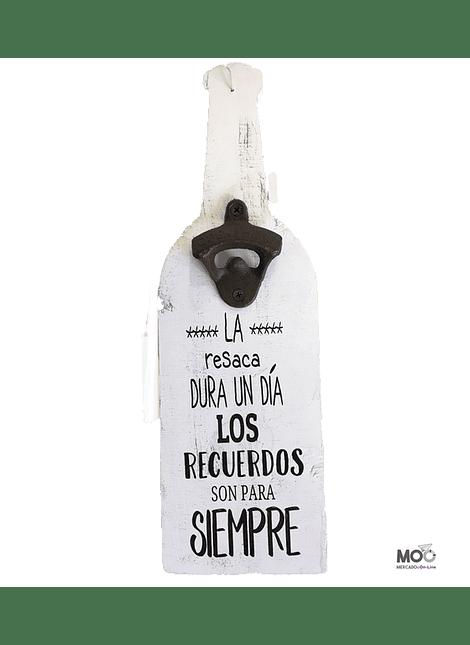 "Destapador de Botellas ""Recuerdos"""
