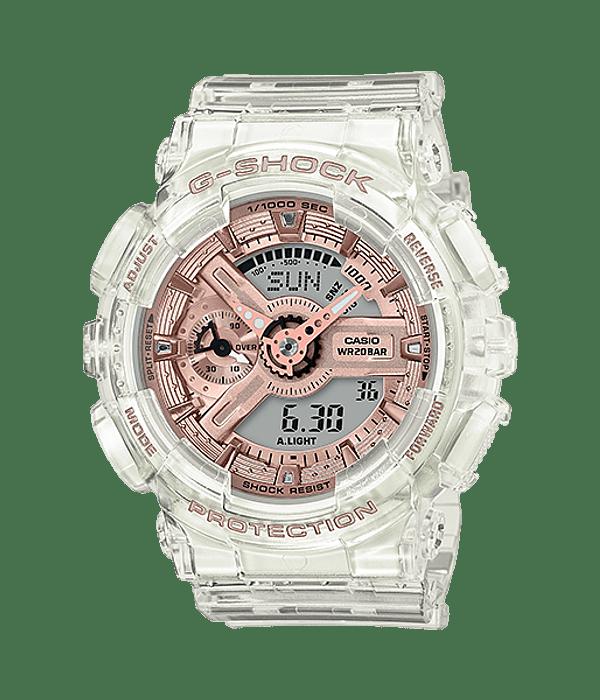 Transparent X Rose Gold S Series GMA-S110SR-7AER