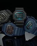 Limited Black & Blue Matte Series DW-5600BBM-2ER