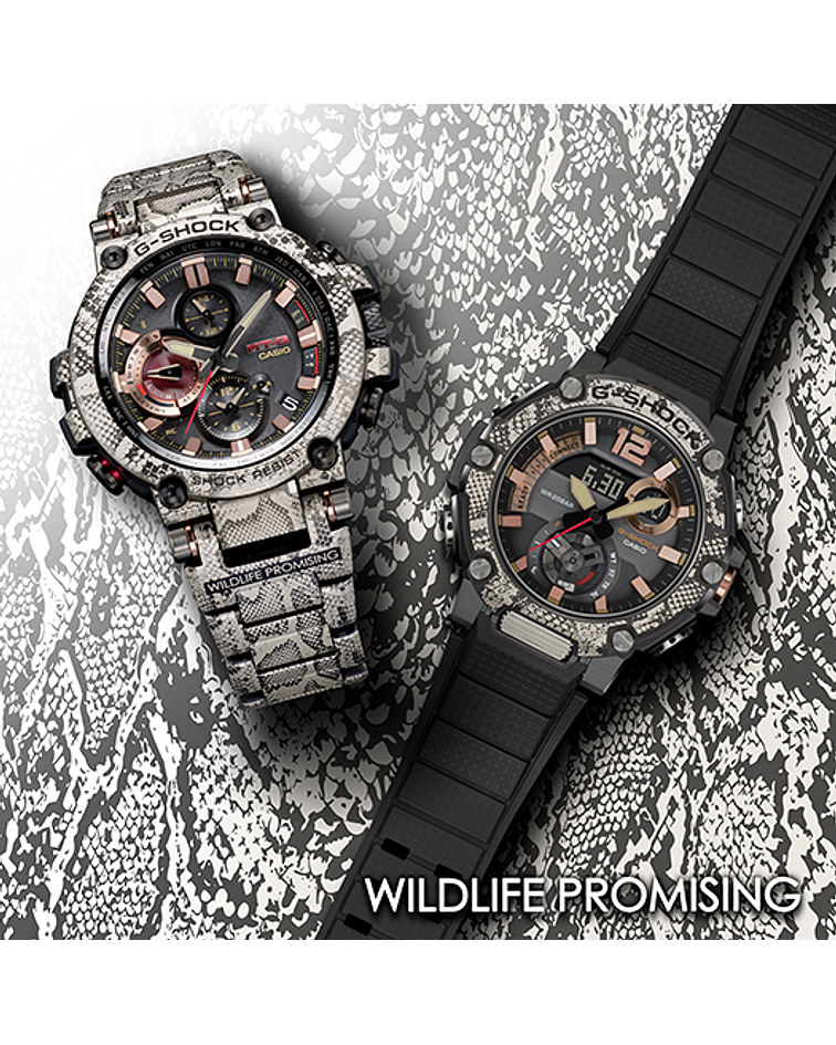 Love The Sea And The Earth Wildlife Promising Collaboration Exclusive Series MTG-B1000WLP-1AER