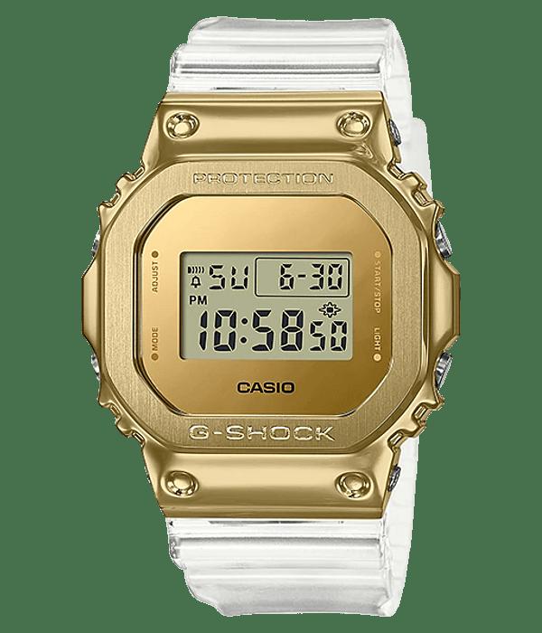 Skeleton Gold Series Metal GM-5600SG-9ER