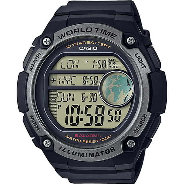 Casio Collection   AE-3000W-1AVEF