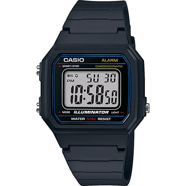 Casio Collection   W-217H-1AVEF