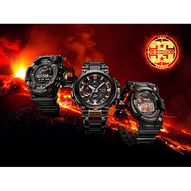 Frogman Magma Ocean Series 35th anniversary GWF-1035F-1DR