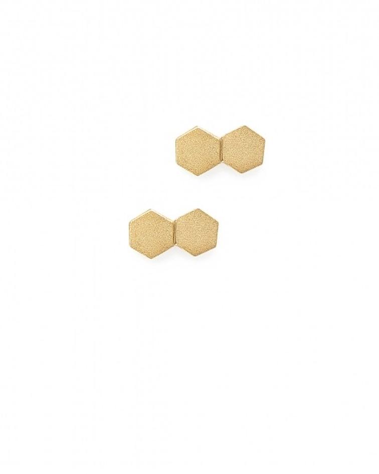 Leixões   Brincos Plaqueado a Ouro