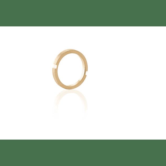 ANEL 'Slice Circulo' Plaque 1,7 gr