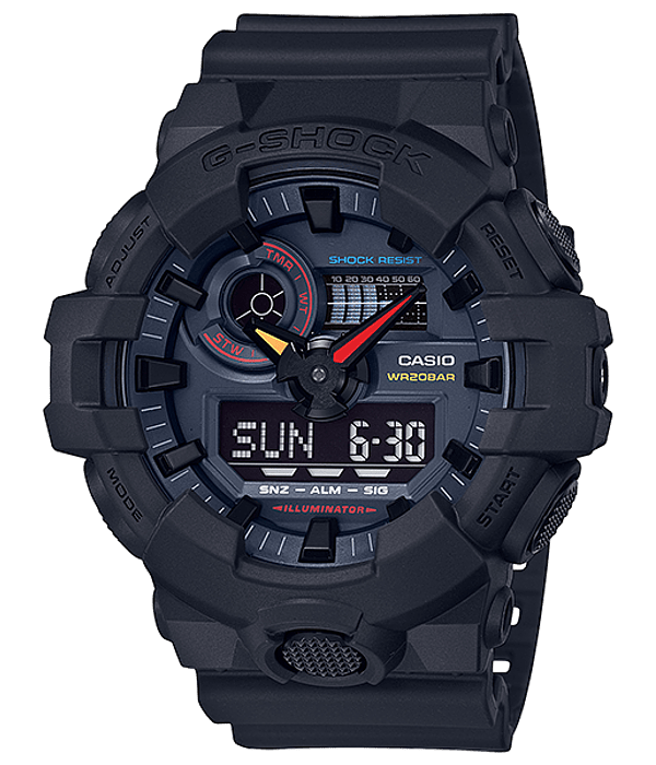 Black X Neon Series GA-700BMC-1AER