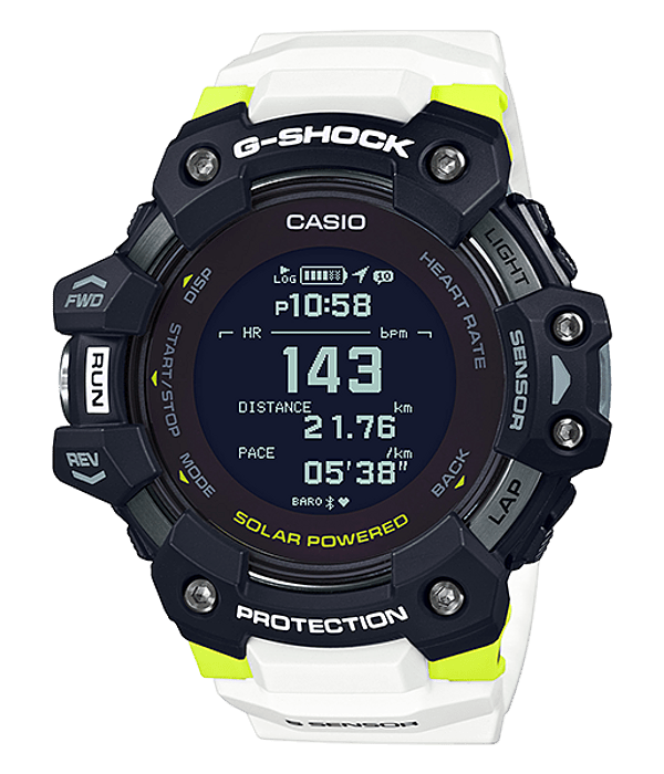 Heart Rate + GPS G-Squad GBD-H1000-1A7ER