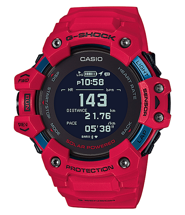 Heart Rate + GPS G-Squad GBD-H1000-4ER