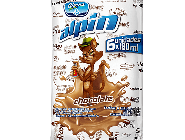 Alpin Chocolate Alpina en bolsita