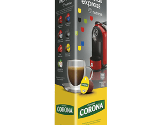 Chocolate corona capsulas
