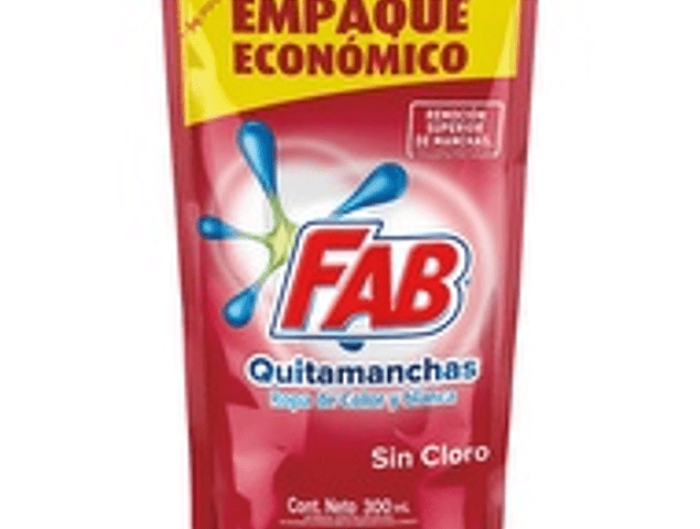 Fab quitamanchas ropa color 300 ml
