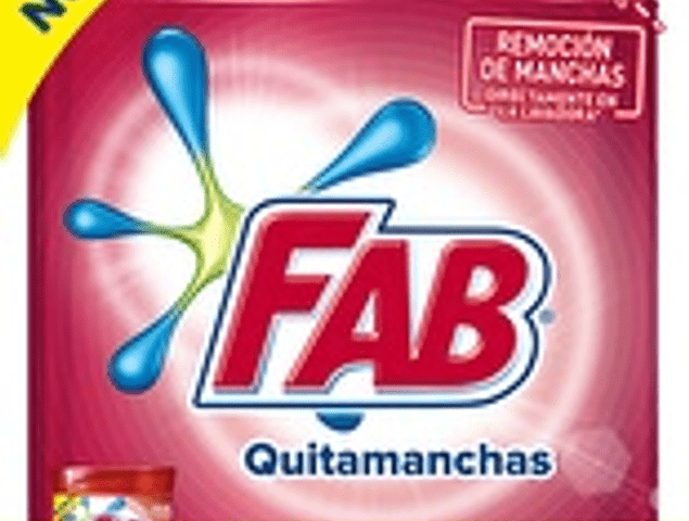 Fab quitamanchas ropa color 420 ml