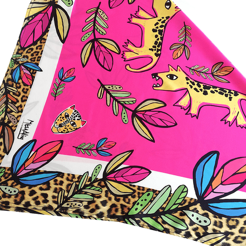 Pañuelo Tigre print
