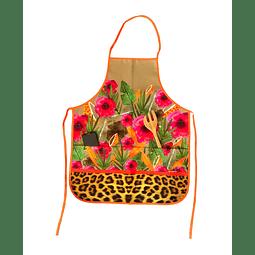 Delantal Flores Print
