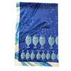 Mantel pez Blue lona impermeable