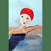 Cuadro Nadadora