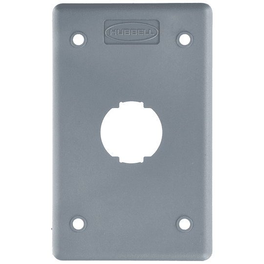 Faceplate IndustrialGris HI14GY