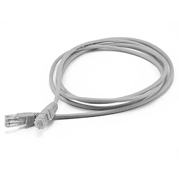 Patch Cord Slim CAT. 6 1m Gris UTP LSZH
