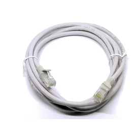 User Cord Slim CAT. 6 3m Gris UTP LSZH