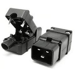 Plug Macho Volante IEC60320 C20