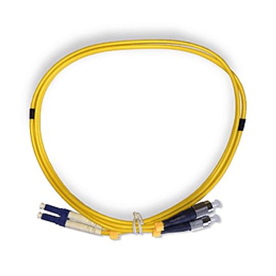 UK Jumper DP FC-SC/UPC SM 9/125 G652D 1mt LSZH