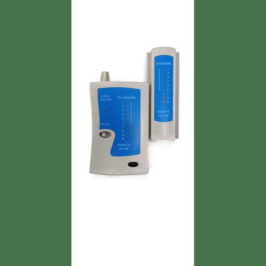 Tester Chequeador de cableado  UTP/BNC