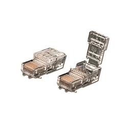 Plug RJ-45 UTP Cat. 5E Snap On Autoponchado mod. BRFTP4P