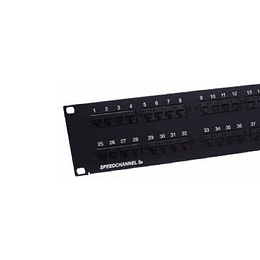 Patch Panel 48 Pos. CAT. 5E PSC5E48