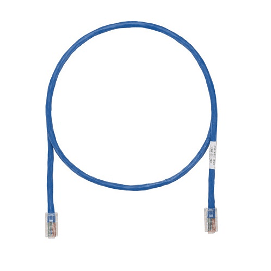 Patch Cord Cat.5E 0,90 m Azul - Blanco