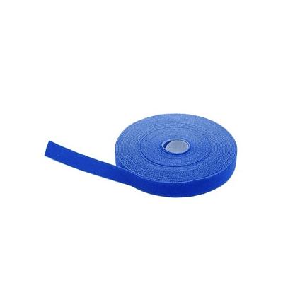 Velcro Azul rollo de 20mts