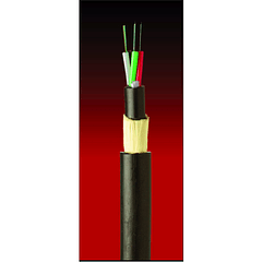 420 mts. Cable fibra optica  48x10 ADSS-200 TIA 598 & G652D