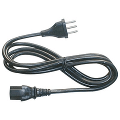 Cable Poder CPU Corriente 1,8 Mts.