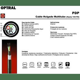 Cable de Fibra Óptica 04x62 PDP01