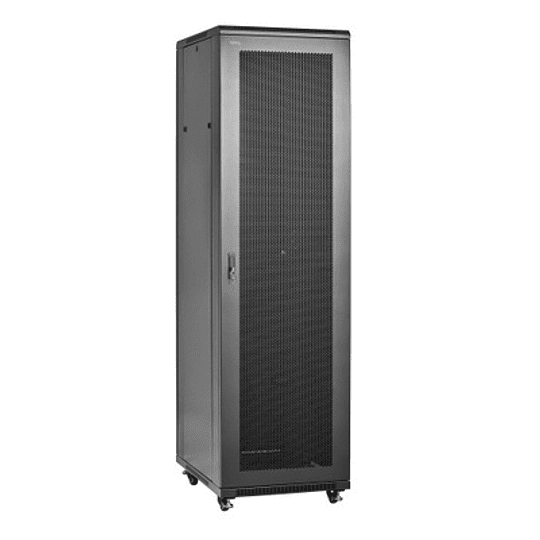Gabinete Rack 19´´  45U x600x600mm Puerta Microperforada