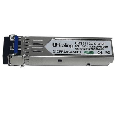 SFP 1,25 Gbps Monomodo 1310 nm  20Km