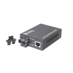 Conversor de Medio 10/100/1000 Multimodo 550 m 1300 nm Conector SC
