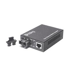 Conversor de Medio 10/100/1000 Multimodo 550 m 850 nm Conector SC