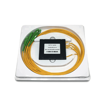 Splitter 1x6 Monomodo G657A1 SC/APC 1m 3,0 mm ABS