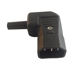 Enchufe Macho Poder Volante IEC320 C14
