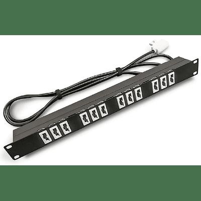 PDU 19 220V 10A 12x5100/Plug 2200(N)