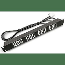 PDU 19 220V 10A 12x5100/Plug L Especial