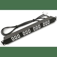 PDU 19 220V 10A 12x5100/Plug 2200 Especial