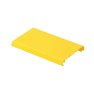 Channel Cover, Hinged, Snap-On, 4 x 4
