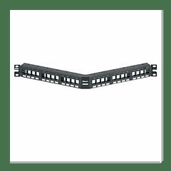 Patch Panel Angulado 24P Modular