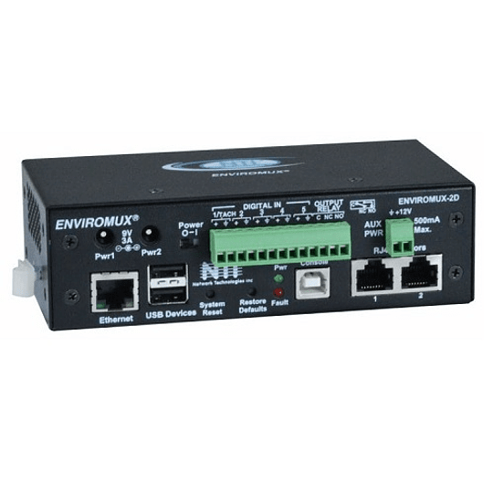 Servidor de Monitoreo Ambiental para Data Center Mod. ENVIROMUX-2D