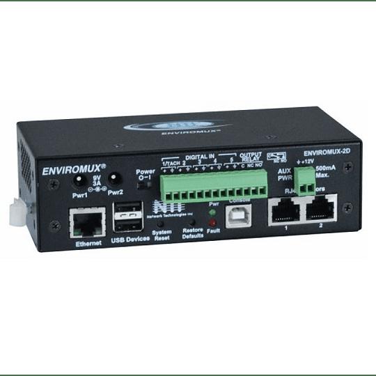 Servidor de Monitoreo Ambiental para Data Center Mod. ENVIROMUX-2D