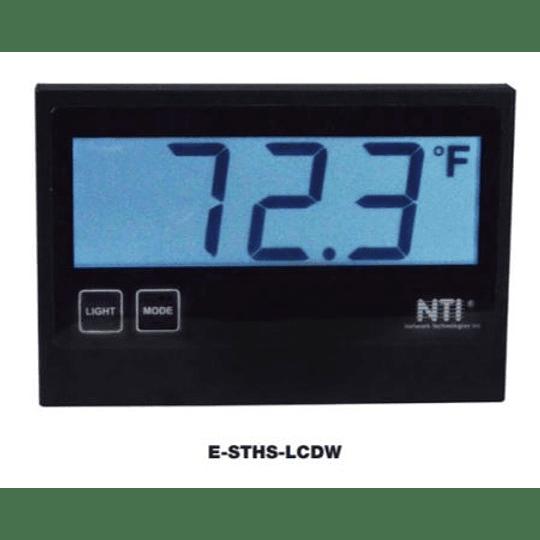 Sensor de Temperatura/humedad con LCD mod. EU