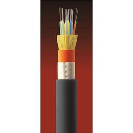 Cable Fibra Óptica 06x10 CDAD TIA 598/G652D Amarillo 1mts