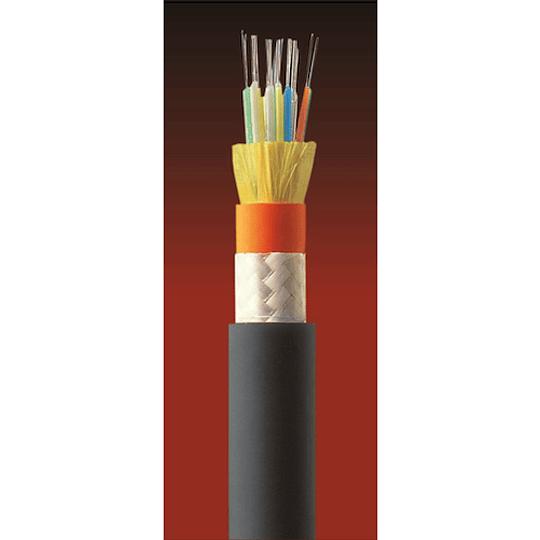 Cable Fibra Óptica 12x10 CDAD -TIA 598 / G652D Amarillo 1mts